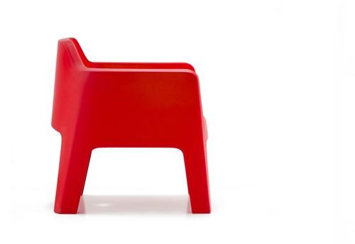 Plus Air 631 - kunststof lounge stoel voor buiten/ terrassen-2