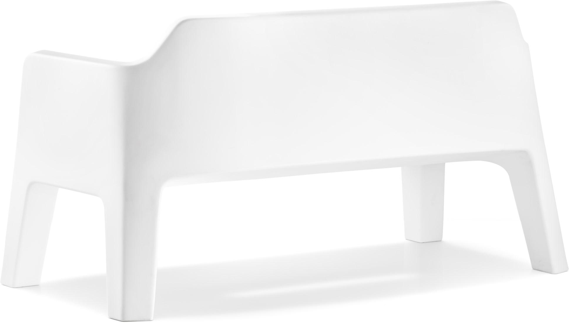 Wit Bankje Buiten.Lounge Bank Plus Air Geheel Uit Kunststof Kleur Wit Bij Fp