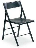 S77 - klapstoel, zitting en rug kunststof in de kleur van het frame
