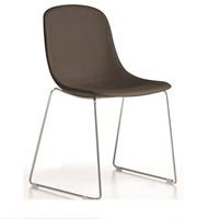 Pure Loop UPH-SL - gestoffeerde stoel met sledeframe