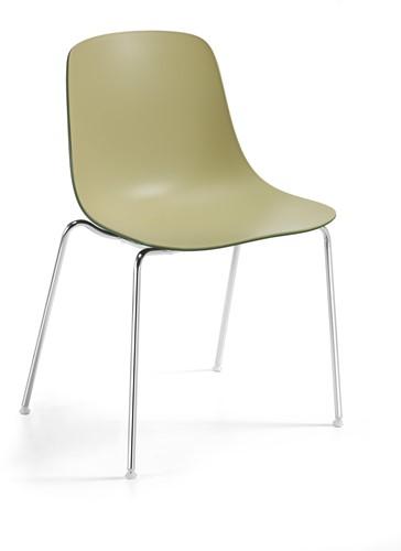 Pure Loop Binuance - kunststof stoel met 2-kleurige zitschaal-2