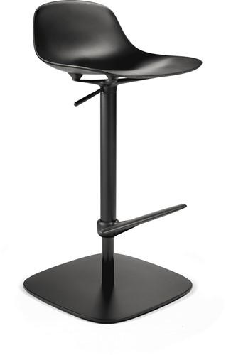 Pure Loop Mini Updown - in hoogte verstelbare kruk met kunststof zitting