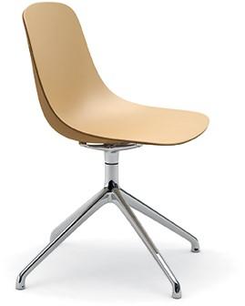 Pure Loop Binuance SP - 2 kleurige kunststof stoel met spider frame