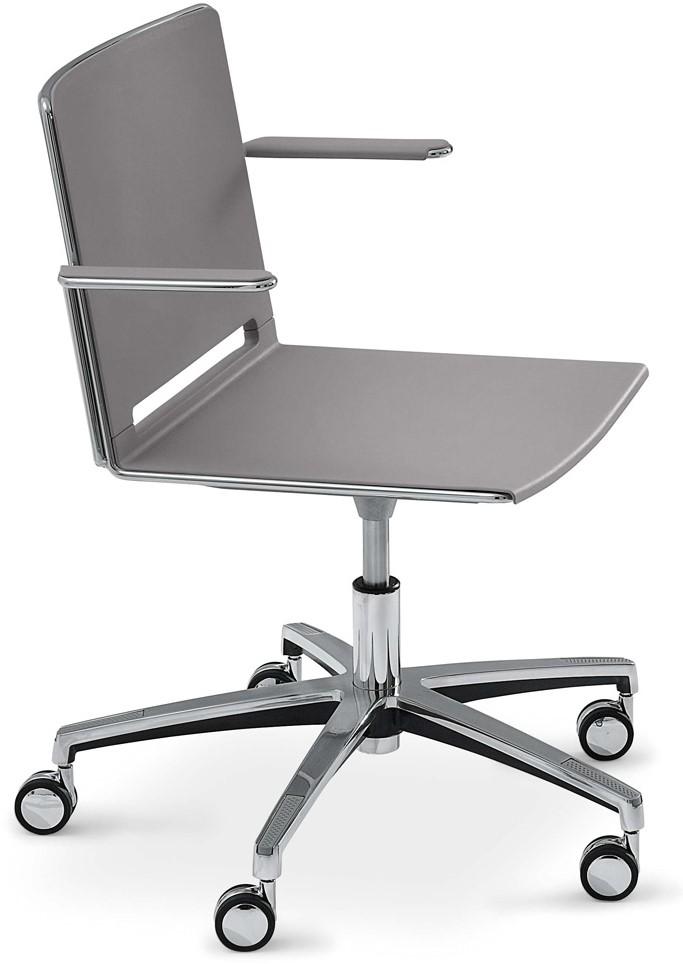 Wieltjes Bureaustoel Vervangen.Qliq A659 In Hoogte Verstelbare Kunststof Bureaustoel Met