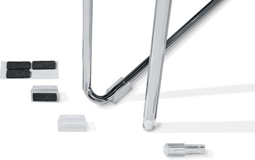 Qliq AC-Vilt - Set van 4 glijders met vilt voor Qliq stoelen / krukken serie