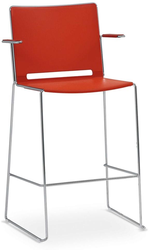 barhocker mit armlehne stuhl nap fritz hansen barhocker. Black Bedroom Furniture Sets. Home Design Ideas