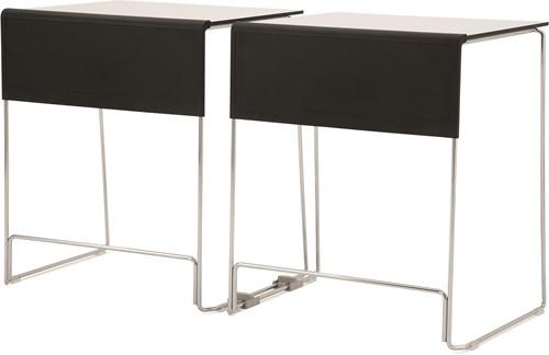Qliq Tafel - stapelbare en koppelbare lestafel / examentafel passend bij de Qliq stoelen serie