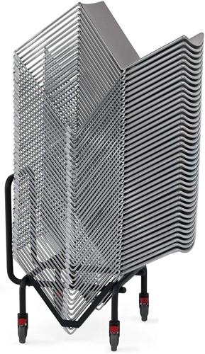 Qliq Trolley - Trolley voor stapelstoel Qliq, geschikt voor max. 40 kunststof stoelen