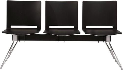 Qliq B663 - wachtbank 3 zitplaatsen