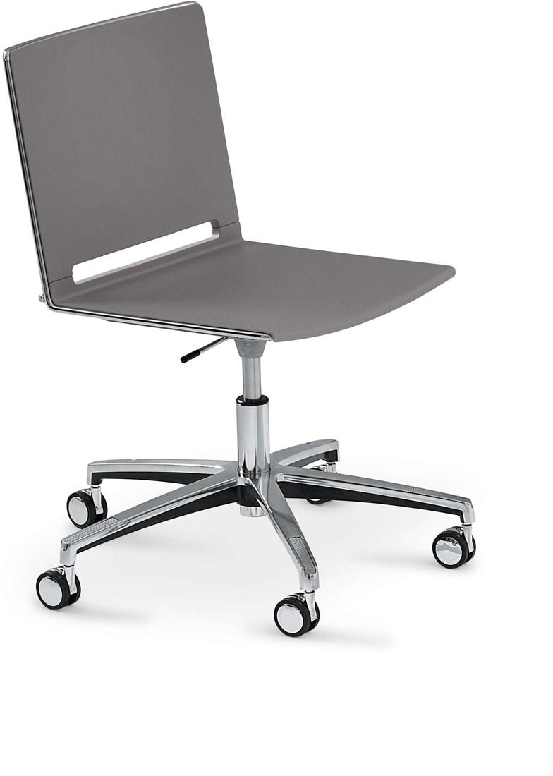 Verstelbare Bureaustoel Zwart.Qliq S659 In Hoogte Verstelbare Kunststof Bureaustoel Met Wielen