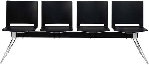 Qliq B664 - wachtbank 4 zitplaatsen