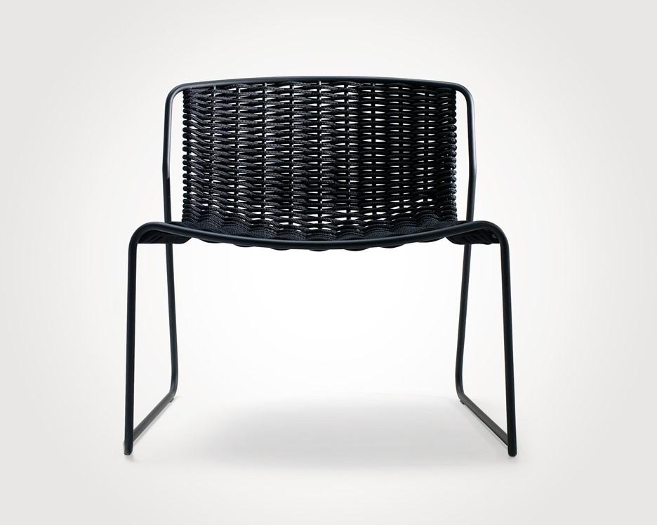 Randa 804 luxe lounge stoel voor buiten van staal en for Lounge stoel buiten