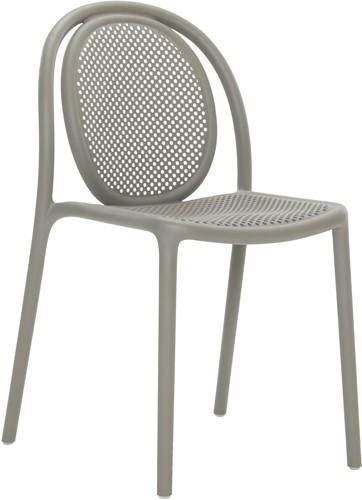Remind 3730 -  Terras stoel gerecycled polypropyleen - Gerecycled Grijs (RG)