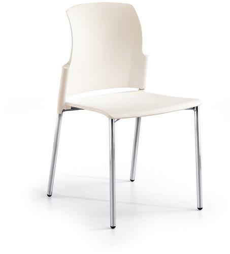 S20 - kunststof koppelbare en stapelbare stoel