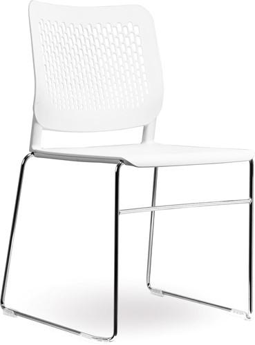 S490-SL - stapelbare kunststof zaalstoel met geperforeerde rug-2