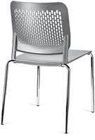 S490 - stapelbare kunststof kantine stoel met geperforeerde rug-2