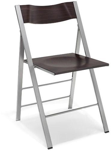 S76 - klapstoel, zitting en rug hout