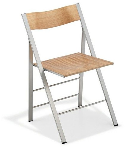 S76 - klapstoel, zitting en rug hout-2