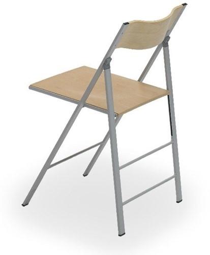 S76 - klapstoel, zitting en rug hout-3
