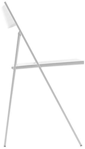S77 - klapstoel, zitting en rug kunststof in de kleur van het frame-2