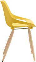 S810 - goedkope kunststof stoel met houten frame en aansprekende vormgeving-2