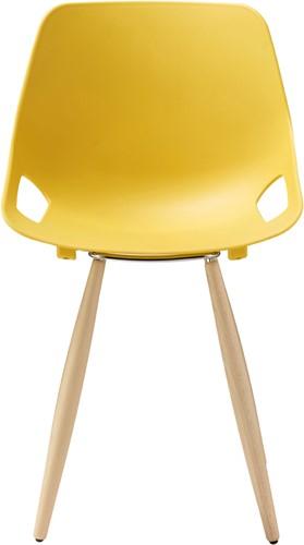 S810 - goedkope kunststof stoel met houten frame en aansprekende vormgeving-3