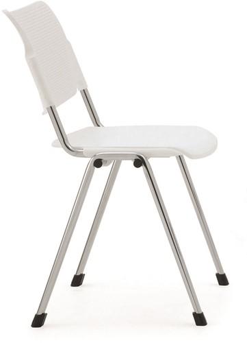 S840 - verticaal stapelbare kunststof stoel voor laag budget