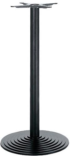 SC110 - Sta-tafelonderstel, hoogte 110 cm, voet gietijzer diameter Ø55 cm