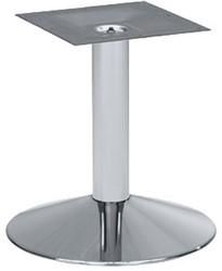 SC126 - Laag tafelonderstel trompetvoet, hoogte 45 cm, voet diameter Ø45 cm