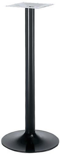 SC128 - Sta-tafelonderstel, trompetvoet, hoogte 110 cm, voet diameter Ø48 cm
