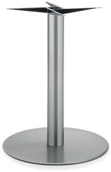 SC173 - Tafelonderstel kolompoot, RVS, hoogte 72 cm, voet diameter Ø 60 cm