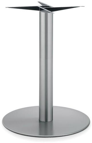 Tafelonderstel SC173 - Tafelonderstel kolompoot, RVS, hoogte 72 cm, voet diameter Ø60 cm