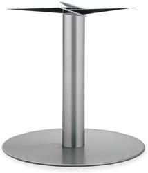 SC177 - Tafelonderstel kolompoot, RVS, hoogte 72 cm, voet diameter Ø 80 cm