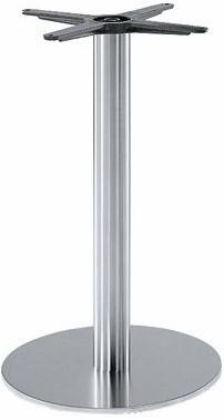 SC181 - Tafelonderstel, vlakke voet, hoogte 73 cm, voet diameter Ø45 cm