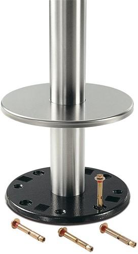 Tafelonderstel SC182-FIX - Sta-tafelonderstel voor vloermontage, hoogte 110 cm, voet diameter Ø28 cm-2