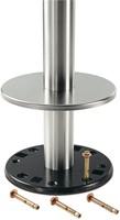 SC181-FIX - Tafelonderstel voor vloermontage, hoogte 73 cm, voet diameter Ø28 cm-2