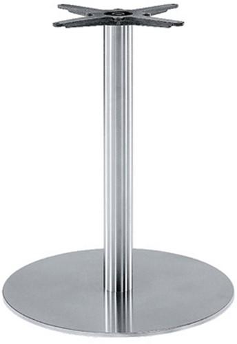SC183 - Tafelonderstel, vlakke voet, hoogte 73 cm, voet diameter Ø60 cm
