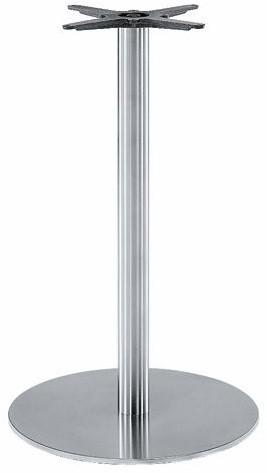 SC184 - Sta-tafelonderstel, vlakke voet, hoogte 110 cm, voet diameter Ø60 cm