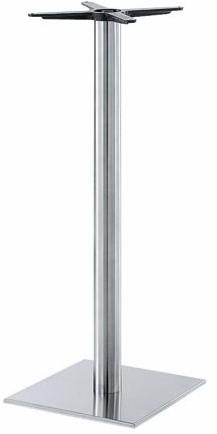 SC186 - Sta-tafelonderstel, vierkante voet, hoogte 110 cm, voet 40 x 40 cm