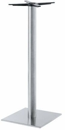 Tafelonderstel SC186 - Sta-tafelonderstel, vierkante voet, hoogte 110 cm, voet 40x40 cm