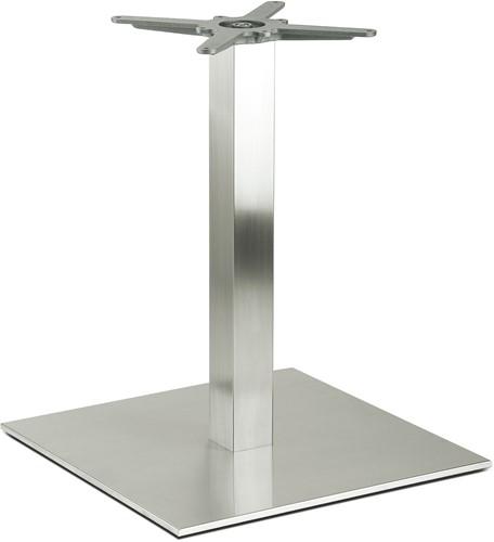 Tafelonderstel SC195 - Tafelonderstel, vierkante voet, hoogte 73 cm, voet 60x60 cm