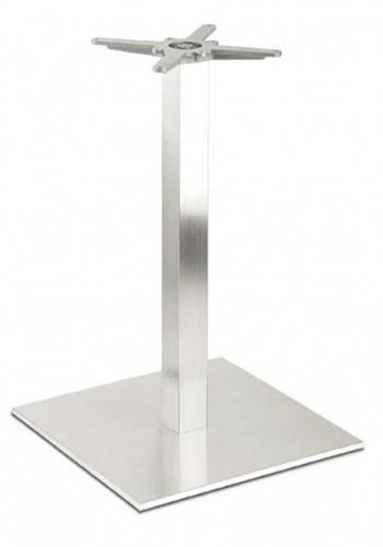 SC196 - Sta-tafelonderstel, vierkante voet, hoogte 110 cm, voet 60 x 60 cm