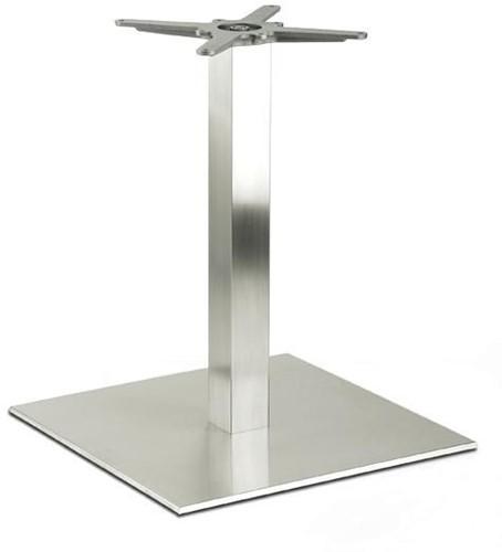 Tafelonderstel SC197 - Tafelonderstel, vierkante voet, hoogte 73 cm, voet 74x74 cm