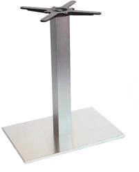 SC199 - Tafelonderstel, langwerpige voet, hoogte 73 cm, voet 60 x 40 cm