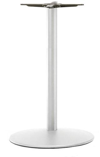 SC214 - Sta-tafelonderstel kolompoot, ronde voet, hoogte 110 cm, voet diameter Ø60 cm