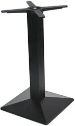 SC245 - Tafelonderstel kolompoot, vierkante voet, hoogte 73 cm, voet 40x40 cm