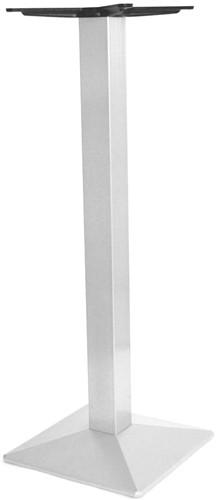 SC246 - Sta-tafelonderstel kolompoot, vierkante voet, hoogte 110 cm, voet 40x40 cm