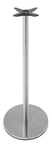 SC282 - Sta-tafelonderstel, vlakke ronde voet, hoogte 110 cm, voet diameter Ø45 cm