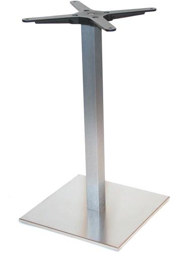 Tafelonderstel SC291 - Tafelonderstel, vierkante voet, hoogte 73 cm, voet 40x40 cm