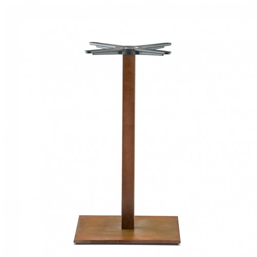 Tafelonderstel SC291-VINTAGE - Tafelonderstel, vierkante voet, hoogte 73 cm, voet 40x40 cm